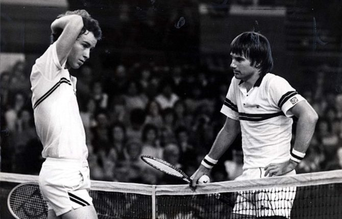 McEnroe Connors